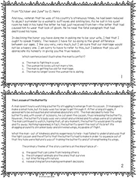 STAAR Reading - Fiction Task Cards - Vol. 2