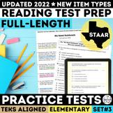 STAAR Reading Full Length Practice Test Grades 3-5
