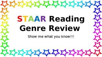 STAAR Reading Genre Review