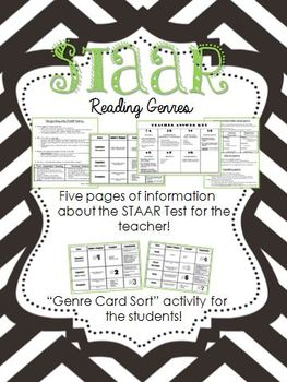 STAAR Reading Genres