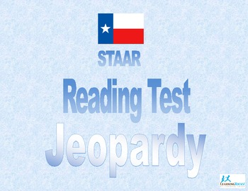 STAAR Reading Jeopardy Game