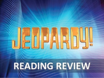 STAAR Reading - Jeopardy Review (STAAR Stemmed)