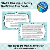 STAAR Reading - Literary Nonfiction Task Cards