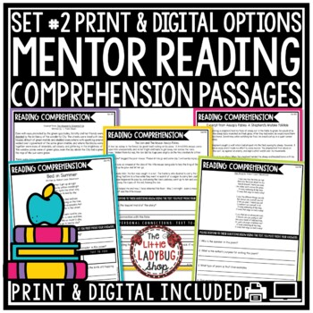 Reading Comprehension Passages and Questions 4th Grade, 3rd Grade, & 5th Grade