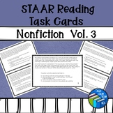 STAAR Reading - Nonfiction - Expository Task Cards - Volume 3