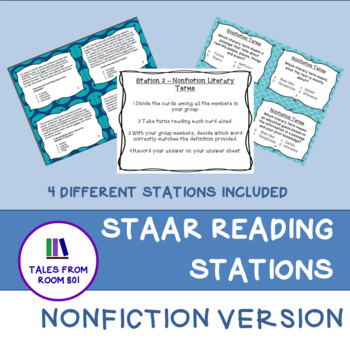 STAAR Reading - Nonfiction Review Stations