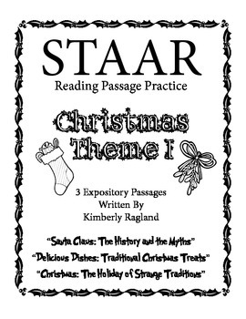 Christmas Theme 1 - STAAR Reading Passage Practice