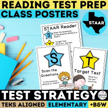STAAR Reading Poster