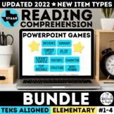 STAAR Reading PowerPoint Game Bundle Grades 3-5