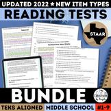 STAAR Reading Practice Tests Bundle