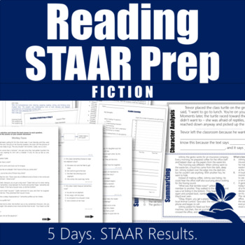 STAAR Reading Prep 3rd Grade (Fiction)