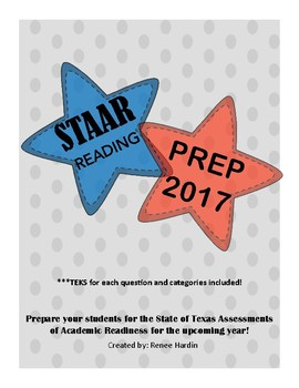 STAAR Reading Prep 2017