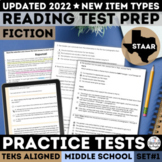 STAAR Reading Prep Practice Test Set 1 for Google Forms™