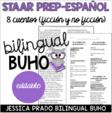 STAAR Reading Prep Spanish Paired Passages with Comprehension Questions