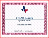 STAAR Reading Question Stems: THE BREAKDOWN