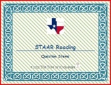 STAAR Reading Question Stems Task Cards