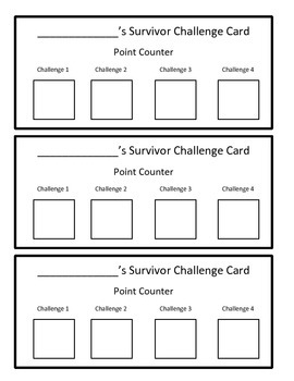 Reading Activity Review Game (Nonfiction)- Survivor/ Minute to Win It Theme