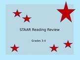 STAAR Summer School Reading Review Grades 3-4