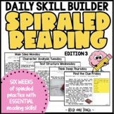 READING TEST PREP: Morning Message Edition 3
