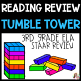 STAAR Reading Review Tumble Tower Blocks