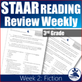 STAAR Reading Review Weekly #2 (Third Grade)