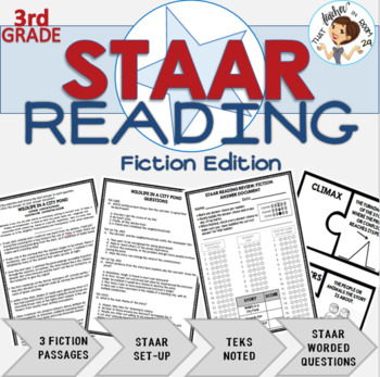 STAAR Reading Review for 3rd Grade: Fiction Edition