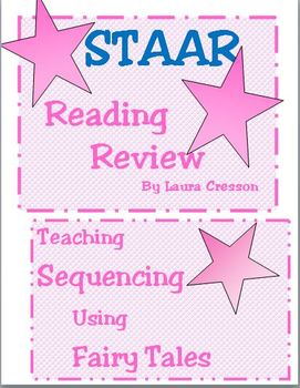 STAAR Reading Review:Teaching Sequencing Using Fairy Tales