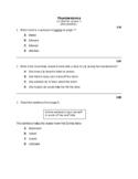 STAAR Reading STEMS for LLI  Red Kit; Lesson 1 - Thunderstorms; Grade 3