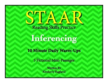 STAAR Reading Skills Practice-Inferencing Warm-Ups