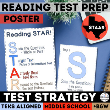 STAAR Reading Strategy: 3 Step Set