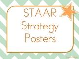 STAAR Reading Strategies Poster Set