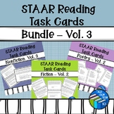 STAAR Reading - Task Card - Bundle - Fiction, Nonfiction and Poetry