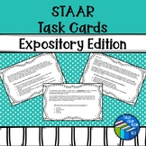 STAAR Reading Task Cards - Expository Edition