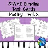 STAAR Reading Task Cards - Poetry - Volume 2