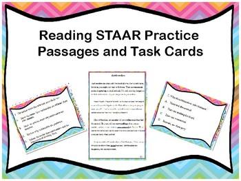STAAR Reading Task Cards