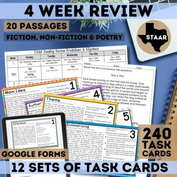 STAAR Reading Test Prep Complete Set