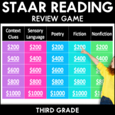 STAAR Reading Test Prep Review Game