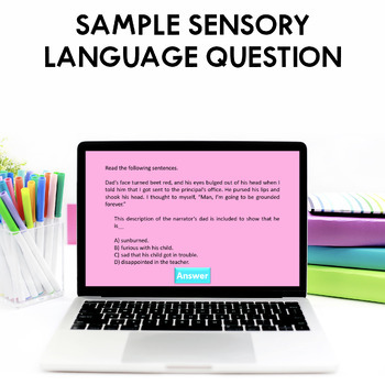 STAAR Reading Review Game - Test Prep Review Game