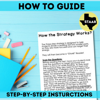 STAAR Reading Test Strategy
