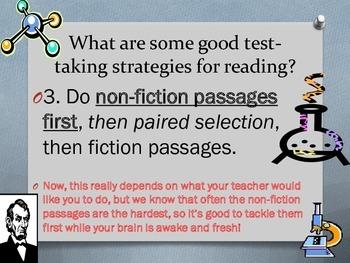 STAAR Reading Test-Taking Strategies