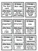 STAAR Reading Test Vocabulary Review game ( I Have... Who