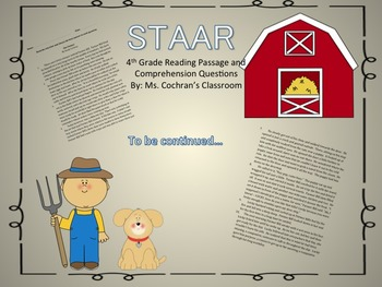 STAAR Reading  - The Farmer Part I