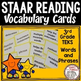 STAAR Reading Vocabulary 3rd Grade