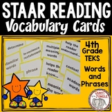STAAR Reading Vocabulary 4th Grade