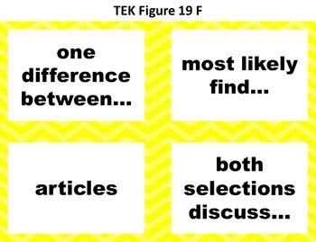 STAAR Reading Vocabulary 5th Grade