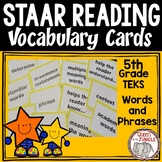 STAAR Reading Vocabulary 5th Grade