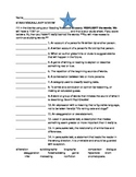 STAAR Reading Vocabulary Review #2
