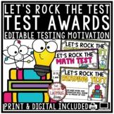 Let's Rock the Test Prep Motivational Awards- Students Hel