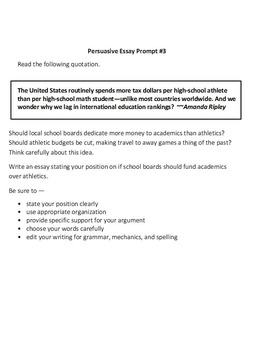 STAAR Reading and Writing Practice Pack