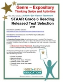 STAAR Release Analysis & Activities: A Bird's-Eye View of Teamwork, Grade 6